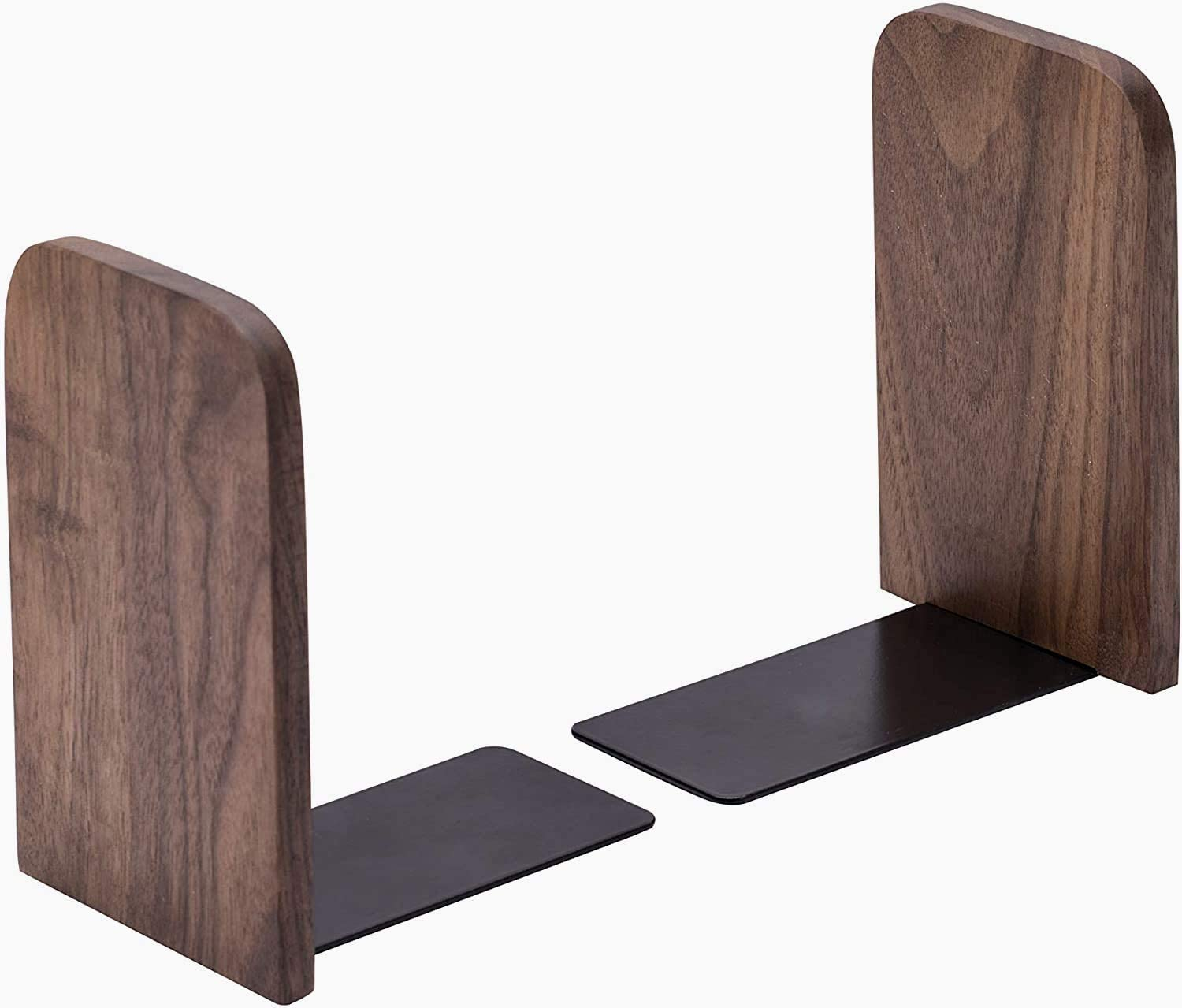 Lykia Wooden BOOKENDS Bookends Decorative Max 60% OFF Pair Blac High quality new 1 Pack of