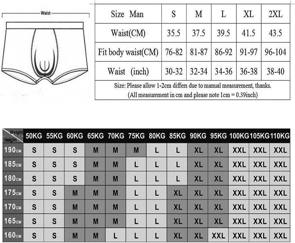DIAOD Men's Long Leg Boxer Cotton Man Underwear Underpants Boxer Breathable Shorts (Color : Multicolor 1, Size : S Code)