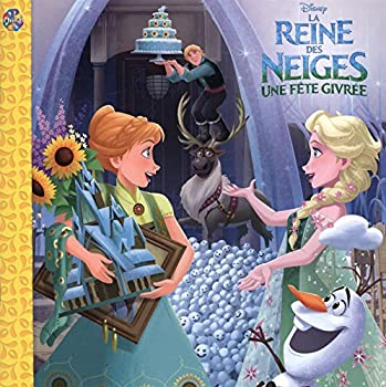 Paperback Phidal La Reine des neiges Une fête givrée French Book