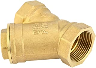 Messing filterklep Y-type filter DN32 G1-1 / 4 inch messing binnendraad aansluiting Filtratieklep Afgeschermde filter
