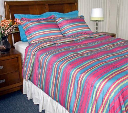 Newpoint Printed Limited time sale Washington Mall Stripe Microfiber Sets Comforter Twin Mini
