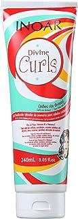 Gel Finalizador Divine Curls Definição de Cachos 240ml, Inoar