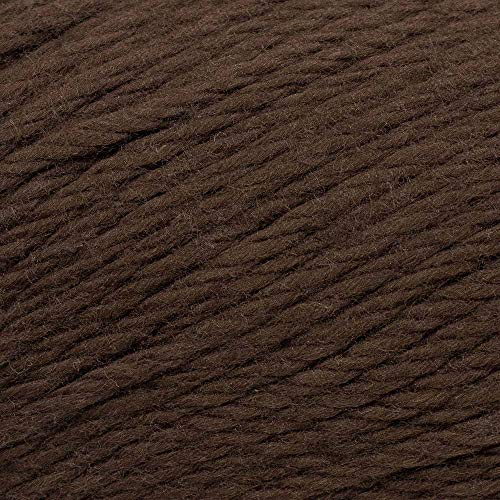 3 Pack Cotton Yarn – Medium Weight 100 Percent Cotton Crafting Yarn (Brown)