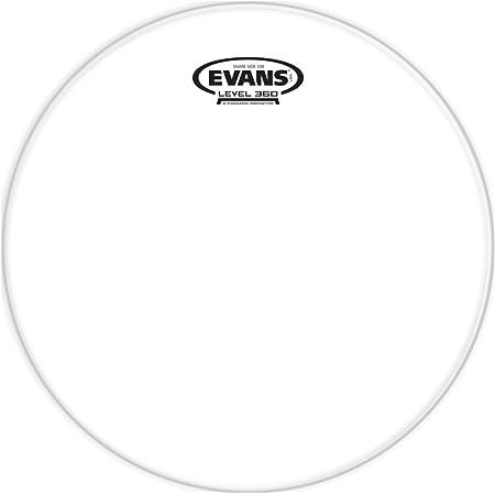 Parche transparente para redoblante lateral de 14 pulgadas (356 mm) Clear 300 de Evans