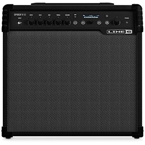 Line 6 Spider V60 MkII Combo para Guitarra Eléctrica 60w
