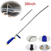 Buyplus High Pressure Hydro Jet Wand - 39'' Long Extendable Garden Sprayer Power Washer Attachment Water Hose Nozzle Car Washer, Flexible Glass Cleaning Tool Window Water Cleaner