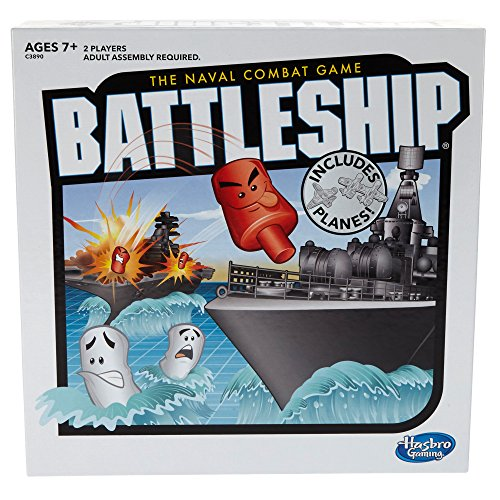 Battleship With Planes Strategy Board Game For Ages 7 and Up Amazon Exclusive