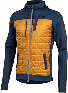 PEARL IZUMI Men's Versa Quilted Cycling Hoodie, Navy/Berm Brown, X-Large