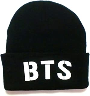 BTS 防弾少年団 ロゴ ニット帽 ニットキャップ ビーニー