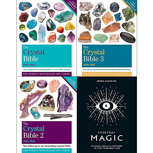 Price comparison product image Crystal bible judy hall vol 1-3 and everyday magic [hardcover] 4 books collection set