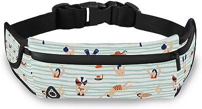 Zomer Strand Zwemmen Taille Pack Bag voor Fietsen Fitness Oefening Waterdichte Verstelbare Workout Fanny Pack Vrouwen Mann...