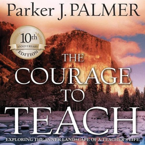 The Courage to Teach audiobook cover art