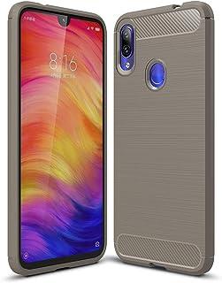 جراب Huawei Y6 Pro 2019، غطاء XINKOE Ultra Slim [نحيف] [مضاد للخدش] [يمتص الصدمات] [متين] لهاتف Huawei Y6 Pro 2019 - رمادي