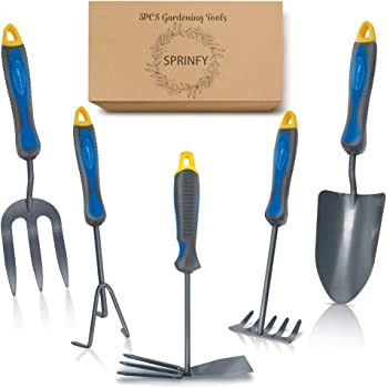 Mini Hand Tool Set Trowel and Fork Ladies Girls 2 pc