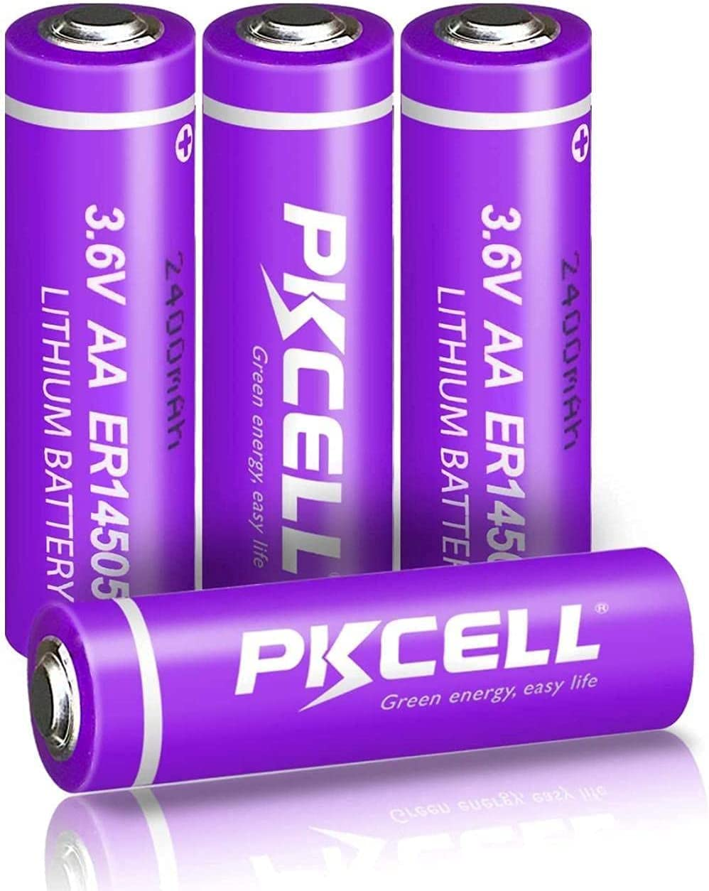 ER14505 14505 S14500 3.6V AA 4pcs 2400mAh Li-SOCl2 Price reduction Atlanta Mall Battery