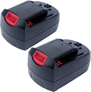 Epowon 2Packs 18-Volt Ni-Cd Battery 3000mAh Replacement for SKIL SB18C SB18A SB18B 2810 2888 2895 2897 2898 4570 5850 5995 7305 9350 Cordless Drill Tools