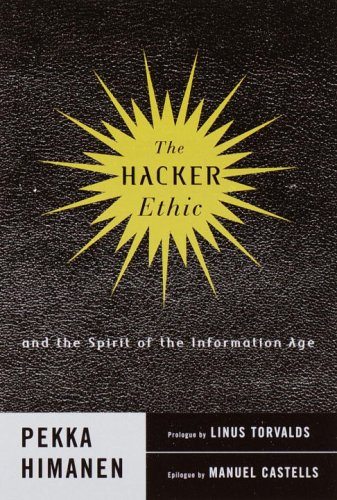 『The Hacker Ethic and the Spirit of the New Economy』のカバーアート