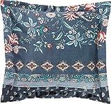 Bassetti FABRIANO - Funda de cojín (40 x 40 cm, algodón), Color Gris