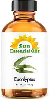 Eucalyptus Essential Oil (Huge 4oz Bottle) Bulk Eucalyptus Oil - 4 Ounce