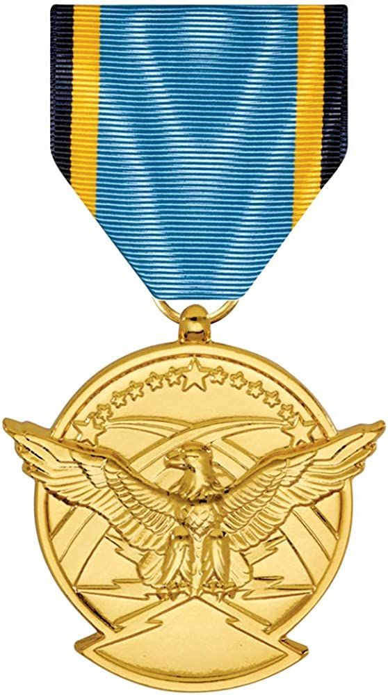 Aerial Free shipping on posting reviews Max 80% OFF Achievement Medal Anodized