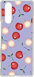 WHITENUTS Xperia 5 J9210 ケース クリア ハード プリント パターンC (cw-1328) スマホケース エクスペリア ファイブ スリム 薄型 カバー 全機種対応 WN-PR3860075