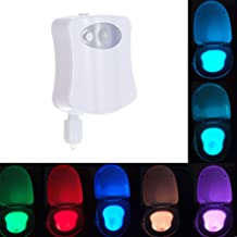Toilet Night Light Changing Bathroom LED Toilet Bowl Night Light