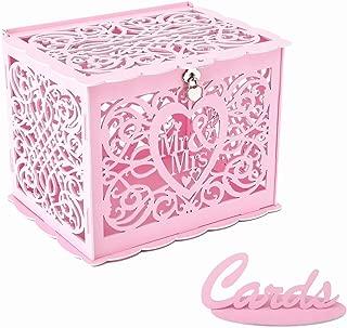 pink card box