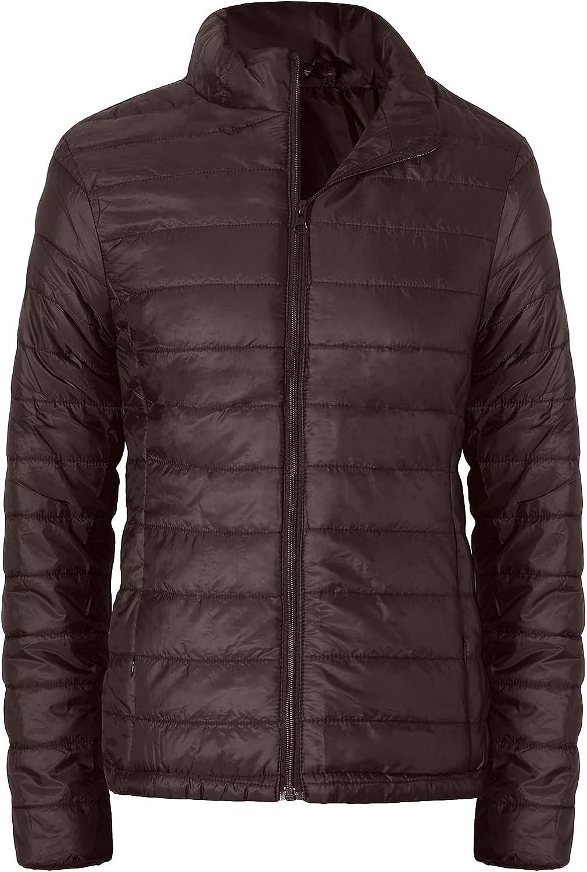 SUNDAY ROSE Women's Packable Puffer Jacket Lightweight Down Alternative Coats