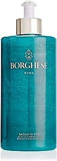 Borghese Bagno di Vita Foaming Shower Gel - Body Wash Cleanser - 15 FL Oz