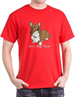 CafePress Cowboy_Bebop_Data_Dog_Dark T Shirt Cotton T-Shirt