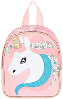 Claire's Club Girl's Claire's Club Unicorn Backpack - Pink