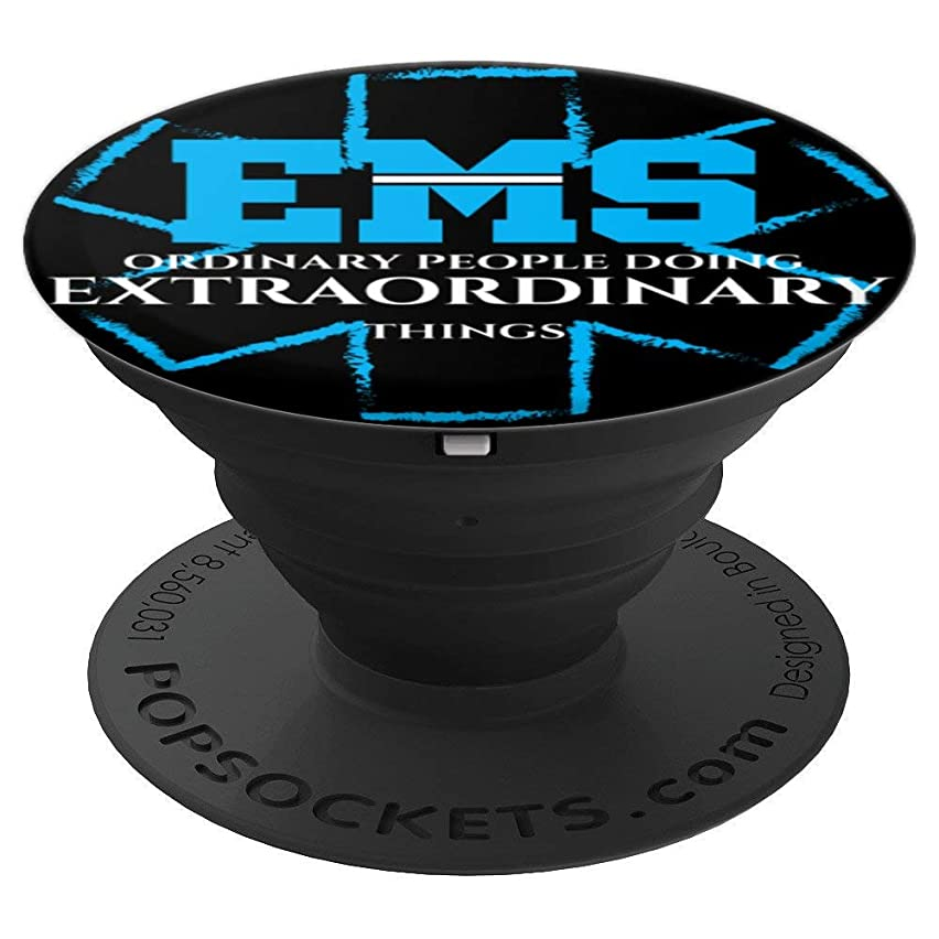Thin White Line Line EMS Shield - PopSockets Grip and Stand for Phones and Tablets