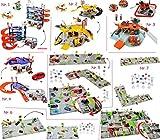 alles-meine.de GmbH großes Komplettset: 3-D Spielmatte -  Parkhaus - Garage mit Tankstelle, Lift,...