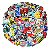 Cool Scuba Diver Stickers for Laptop Diving Adventure Undersea Sports Stickers Car Motorcycle Bicycle Luggage Helmet Graffiti Patches Skateboard Stickers (Diving Sports)