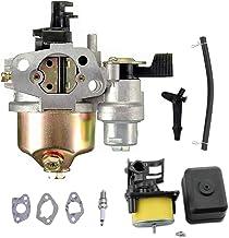 GX120 Gx160 Carburetor Air Filter Housing Assembly Spark Plug Kit for Honda GX120 GX140 GX160 GX168 GX200 5.5hp 6.5hp Smal...