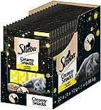 Sheba Aperitivo cremoso para Gatos Creamy Snacks, 20Bolsas (20x 48g)