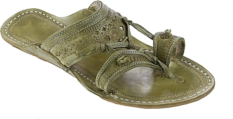 KOLHAPURI CHAPPAL Original Traditional Design Seaweed for Women Slipper Sandal