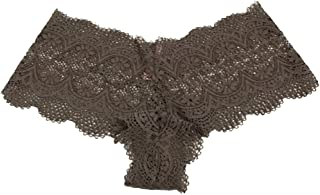 Body by Victoria The Crochet lace Sexy Shortie Panty Large Brown