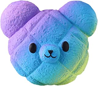Highpot Jumbo Squishies Galaxy Bear Kawaii Squishy Slow Rising Cream Scented Stress Relief Toy for Kids/Adults