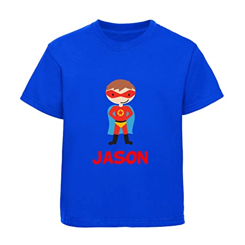 Personalized Name Toddler//Kids Sporty T-Shirt Im Jack World Hello
