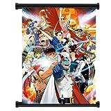Tatsunoko vs. Capcom: Ultimate All-Stars Wii Game Fabric Wall Scroll Poster (32'x42') Inches