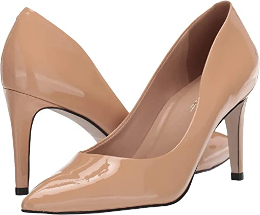 Nude pointy toe pumps + FREE SHIPPING