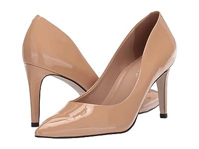 Massimo Matteo Raven Pump (Nude Patent) High Heels