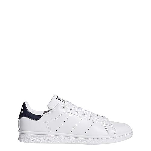 Adidas Stan Smith Schuhe Damen (Schuhe Weiß Core Blau) :