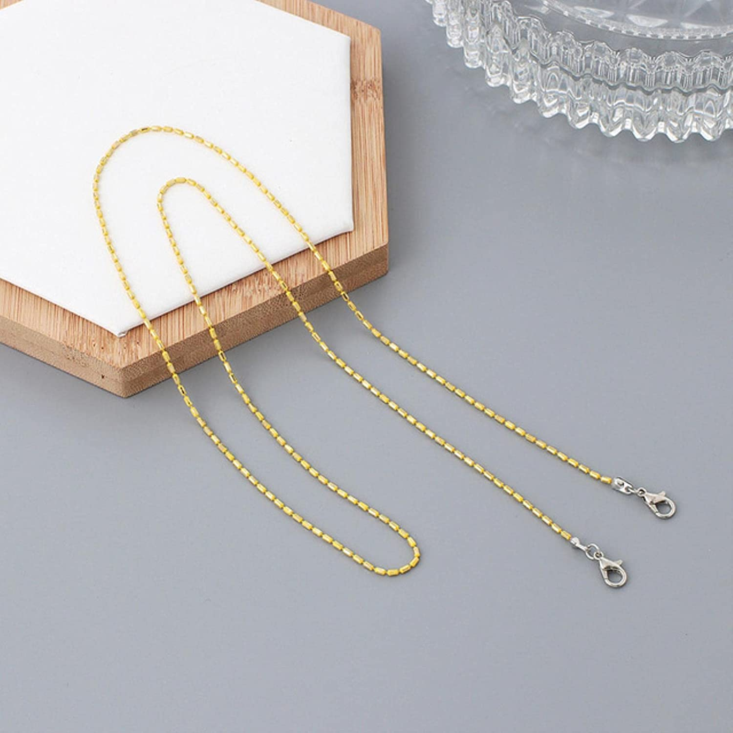 Wsnld Metal Sunglasses Chain Adjustable Ends Glasses Holder Retainer Rope Eyeglass Necklace Lanyard Cord Holders