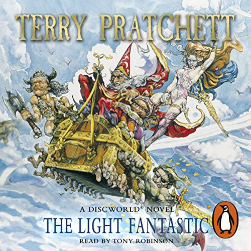 The Light Fantastic     Discworld 2              By:                                                                                                                                 Terry Pratchett                               Narrated by:                                                                                                                                 Nigel Planer                      Length: 6 hrs and 54 mins     183 ratings     Overall 4.7
