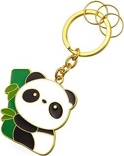 Panda Keytag Metal Alloy Key Ring Key Pendant Keyrings For Men