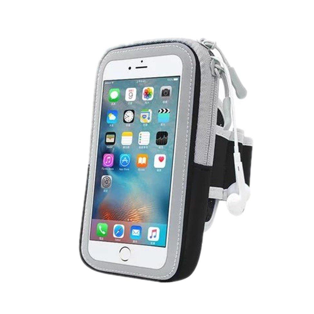 Bareas YD05携帯電話バッグ携帯電話ランニングバッグアウトドアスポーツバッグ軽量防汗、5.5-5.7インチユニバーサルスポーツアームベルト、携帯アウトドアアクセサリー。