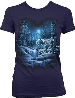 Snow Tiger, White Tiger Juniors T-Shirt
