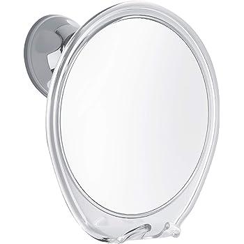 PROBEAUTIFY Fogless Shower Mirror for Shaving | Razor Hook Holder, 360 Degree Rotation, Suction Cup to Bathroom Wall, Fog Free Glass | Men & Women
